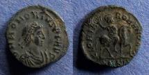 Ancient Coins - Roman Empire, Honorius 395-423, AE4