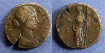 Ancient Coins - Roman Empire, Lucilla 164-184, As