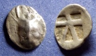 Ancient Coins - Crete, Kydonia(?) 450-330 BC, Hemidrachm