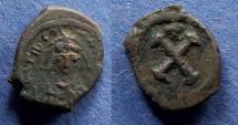 Ancient Coins - Byzantine Empire, Tiberius II Constantine 578-582, Decanummium
