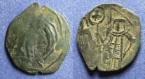 Ancient Coins - Byzantine Empire, Andronicus II with Michael IX 1282-1328, Trachy