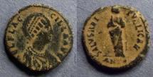 Ancient Coins - Roman Empire, Aelia Flaccilla 383-388, AE2