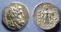 Ancient Coins - Thessalian League, Metrodoros and Pis. Magistrates Circa 130 BC, Stater