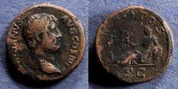 Ancient Coins - Roman Empire, Hadrian 117-138, Aes