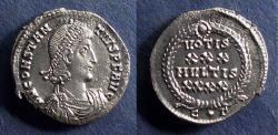 Ancient Coins - Roman Empire, Constantius II 337-361, Heavy Siliqua