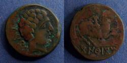 Ancient Coins - Spain, Conterbia 120-80 BC, AE24