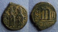 Ancient Coins - Byzantine Emipre, Phocas 602-610, Follis