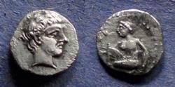 Ancient Coins - Cilicia, Tarsos 389-375 BC, Obol