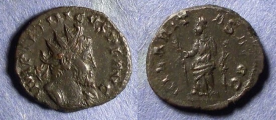 Ancient Coins - Gallic Successionist Empire, Tetricus 271-274, Antoninianus