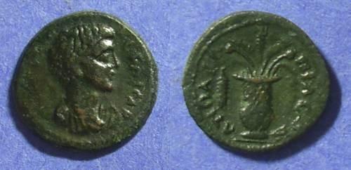 Ancient Coins - Apollonis Lydia AE18– Geta 198-208