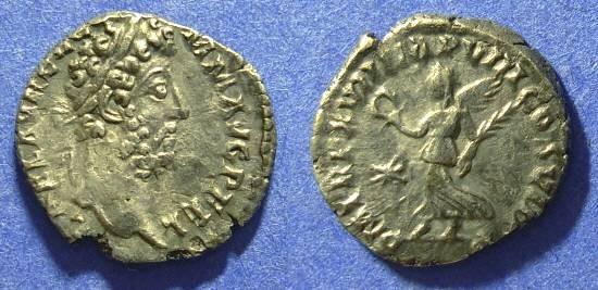 Ancient Coins - Commodus 177-192 Denarius