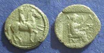 Ancient Coins - Larissa, Thessaly 479-460 BC, Trihemiobol