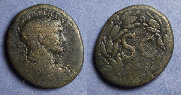 Ancient Coins - Seleucia & Pieria, Antioch, Trajan 98-117, AE 25x28