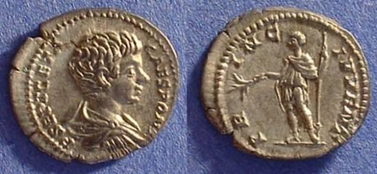 Ancient Coins - Geta as Caesar 198-208 Denarius