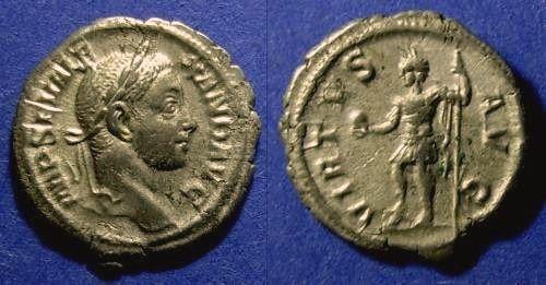 Ancient Coins - Roman Empire, Severus Alexander 222-236, Denarius
