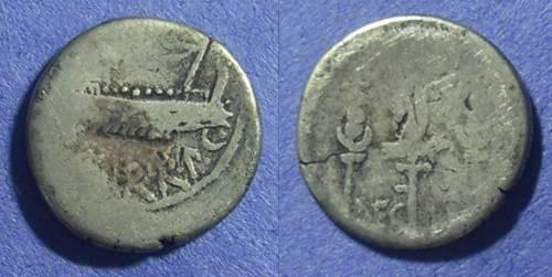 Ancient Coins - Marc Antony Legion II Denarius. 32-31 BC