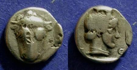 Ancient Coins - Phokis,  457-446 BC, Hemidrachm