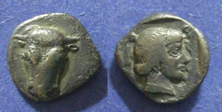 Ancient Coins - Phokis,  457-446 BC, Hemidrachm