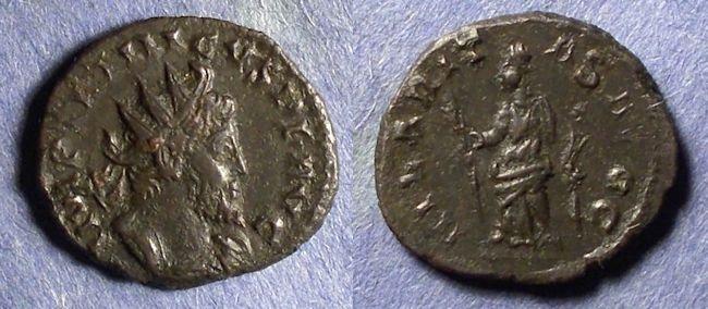Ancient Coins - Gallic Successionist Empire, Tetricus 271-274, Antoninianus