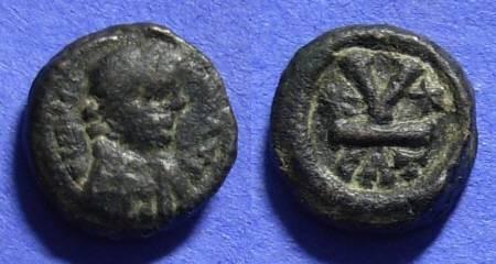 Ancient Coins - Byzantine Empire – Maurice Tiberius 582-602AD Pentanummium of Catania