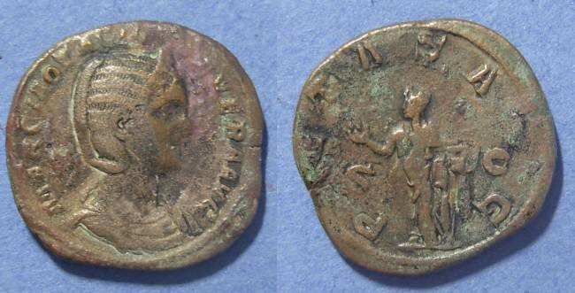 Ancient Coins - Roman Empire, Otacila Severa 244-9 AD, Sestertius