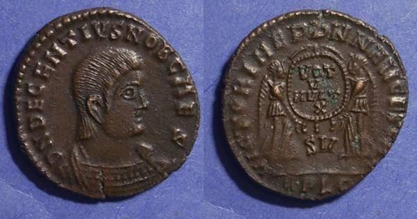 Ancient Coins - Roman Empire, Decentius 351-3, Centenionalis