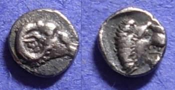 Ancient Coins - Western Asia Minor (Halikarnossos?)– Tetartemorion Circa 480 BC