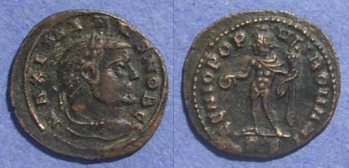 Ancient Coins - Roman Empire, Maximinus II Daia (Caesar) 305-8, 1/4 Follis