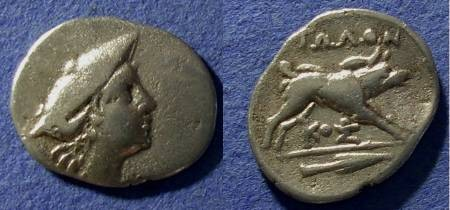 Ancient Coins - Aitolian League,  225-170 BC, Hemidrachm