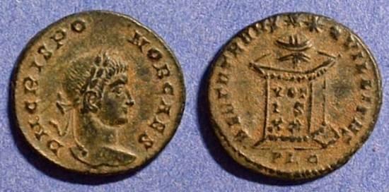 Ancient Coins - Crispus (Caesar) 317-326AD AE3