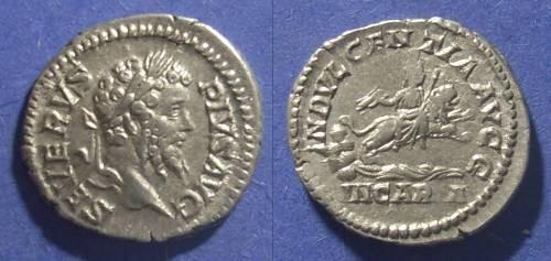 Ancient Coins - Roman Empire, Septimius Severus 193-211 AD, Denarius