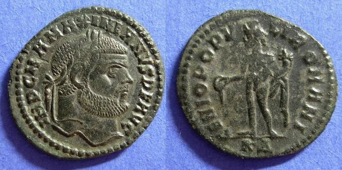 Ancient Coins - Maximianus 286-305AD Follis