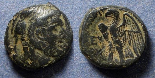 Ancient Coins - Egypt, Ptolemy I 323-283 BC, AE19