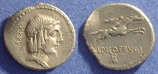 Ancient Coins - Roman Republic - Calpurnia 12 - 90 BC