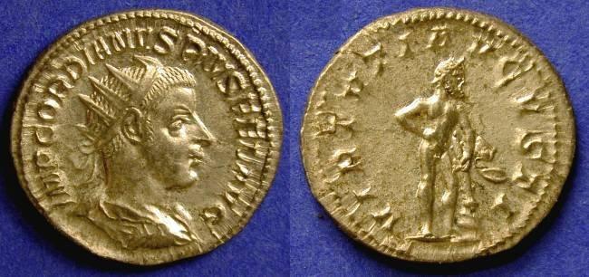 Ancient Coins - Gordian III 239-244 AD Antoninianus