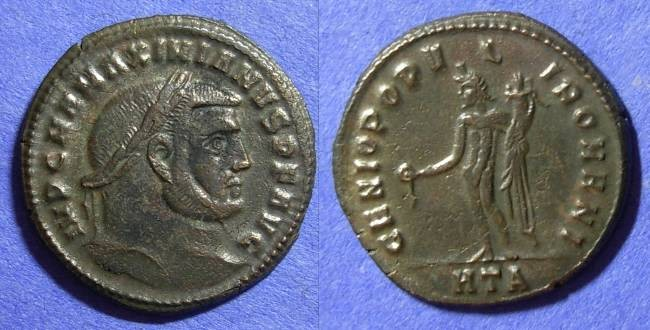Ancient Coins - Roman Empire – Maximianus 286-305 – Follis