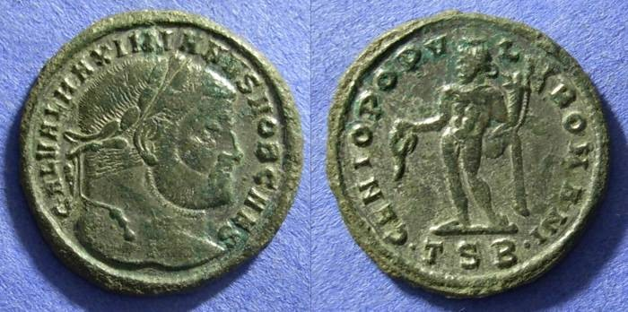 Ancient Coins - Galerius (as Caesar) 293-305 – Follis
