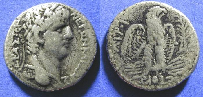 Ancient Coins - Nero - 54-68AD Tetradrachm of Antioch
