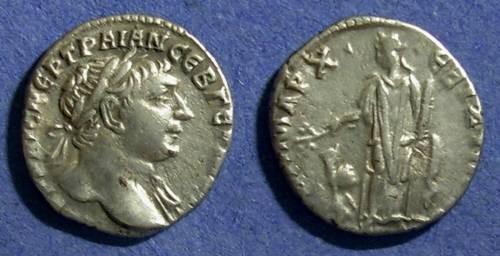 Ancient Coins - Roman Bostra Arabia, Trajan 98-117, Drachm