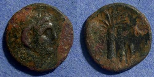 Ancient Coins - Kyrene, Kyrenica Circa 320 BC, AE16