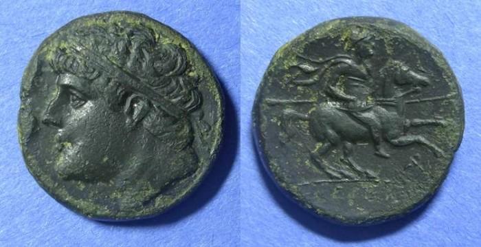 Ancient Coins - Syracuse, Hieron II 275-215 BC, AE26