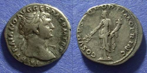 Ancient Coins - Roman Empire Trajan 98-117 Denarius