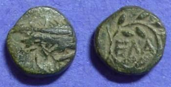 Ancient Coins - Elaea Aiolis – AE11 Circa 200 BC