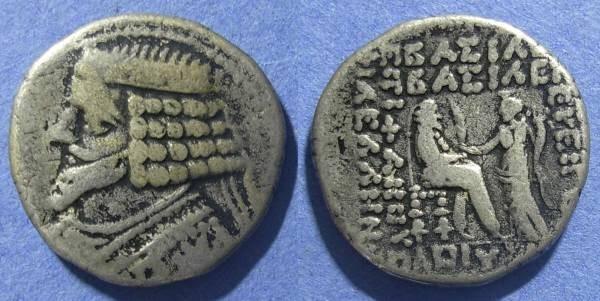 Ancient Coins - Parthia, Phraates IV 38-2 BC, Tetradrachm