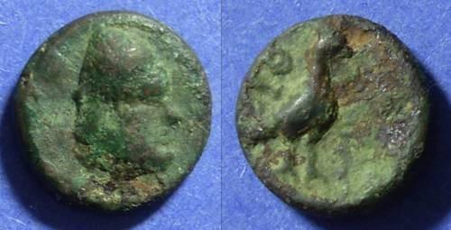 Ancient Coins - Ithaka Island off Elis Circa 350 BC AE16
