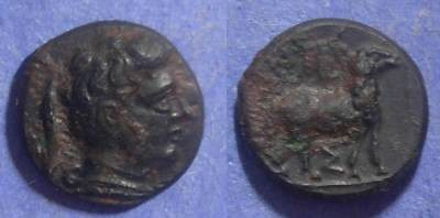 Ancient Coins - Pheneos, Arkadia 370-340 BC, Chalkous