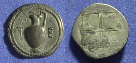 Ancient Coins - Terone Macedonia Tetrobol 500-450 BC