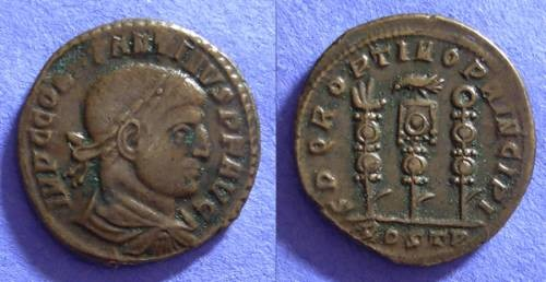 Ancient Coins - Constantine 307-337 - Follis of Ostia