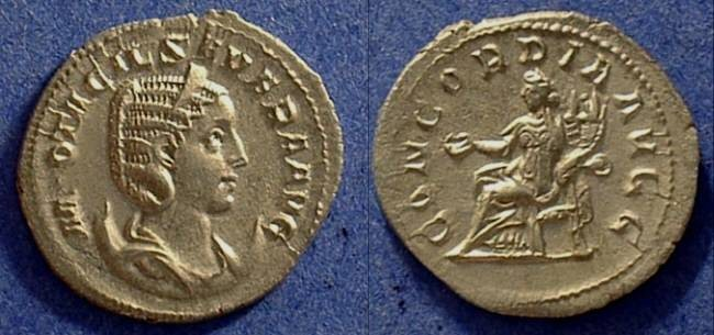 Ancient Coins - Otacilia Severa (Wife of Philip I) 244-249  Antoninianus