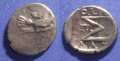 Ancient Coins - Sikyon,  100-60 BC, Hemidrachm